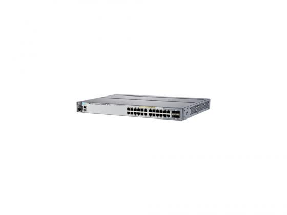 Коммутатор HP 2920-24G-POE+ управляемый 20 портов 10/100/1000Mbps J9727A коммутатор hp 1820 24g poe j9983a