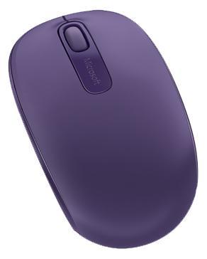 лучшая цена Мышь беспроводная Microsoft Wireless Mobile Mouse 1850 пурпурный USB U7Z-00044