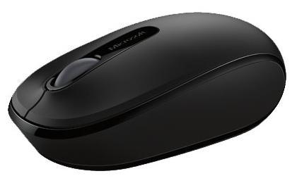 Мышь беспроводная Microsoft Wireless Mobile Mouse 1850 чёрный USB U7Z-00004 мышь microsoft wireless mobile mouse 3600 black bluetooth pn7 00004