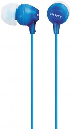 Наушники Sony MDR-EX15LPLI синий sony mdr xb650bt синий