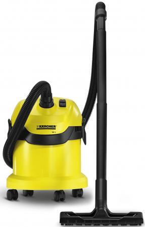 Пылесос Karcher WD2 сухая уборка жёлтый 1.629-760.0 пылесос karcher puzzi 8 1 c 1 100 225