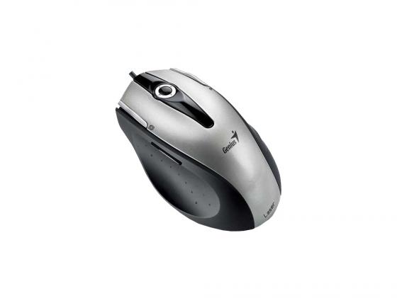 Мышь Genius Ergo T555 серебристый USB