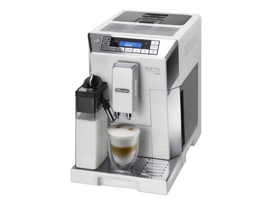 Кофемашина DeLonghi ECAM 45.760.W 1450 Вт белый кофемашина delonghi ecam 45 764 w