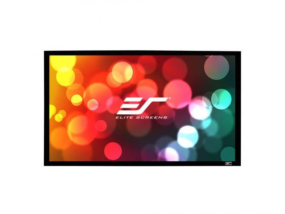 Фото - Экран настенный Elite Screens ER110WH1 110 16:9 137.2x243.8см черный кеды мужские vans ua sk8 mid цвет белый va3wm3vp3 размер 9 5 43