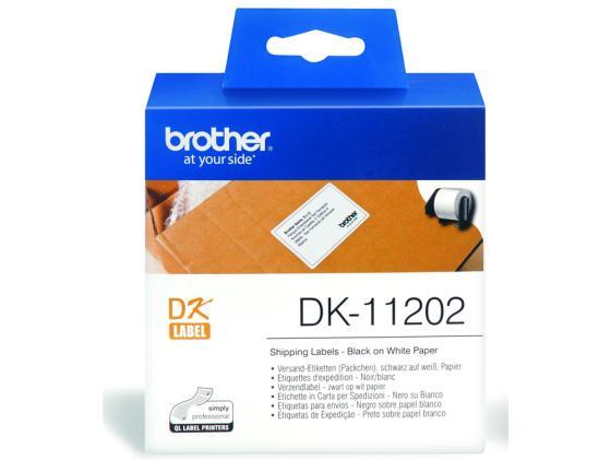 Фото - Наклейки Brother DK11202 почтовые 62х100мм английский для малышей буква за буквой наклейки