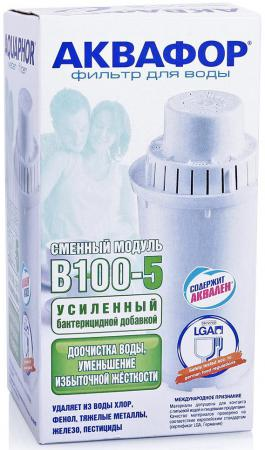 Картридж Аквафор B100-5 с бактерицидной добавкой 2шт фото