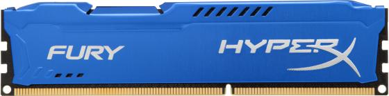 Оперативная память 8Gb (1x8Gb) PC3-15000 1866MHz DDR3 DIMM CL10 Kingston HX318C10F/8 оперативная память 4gb pc3 14900 1866mhz ddr3 dimm cl10 kingston hx318c10f 4 hyperx fury blue series