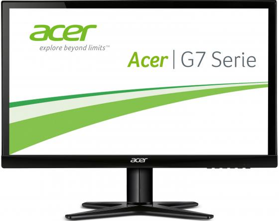Монитор 23 Acer G237HLAbid черный IPS 1920x1080 250 cd/m^2 6 ms DVI HDMI VGA UM.VG7EE.A10 монитор 27 benq ew2775zh черный a mva 1920x1080 300 cd m^2 4 ms g t g hdmi vga аудио