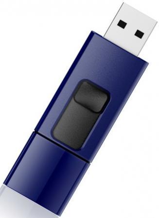 Фото - Флешка USB 16Gb Silicon Power Blaze B05 SP016GBUF3B05V1D синий флешка silicon power blaze b05 8 gb синий