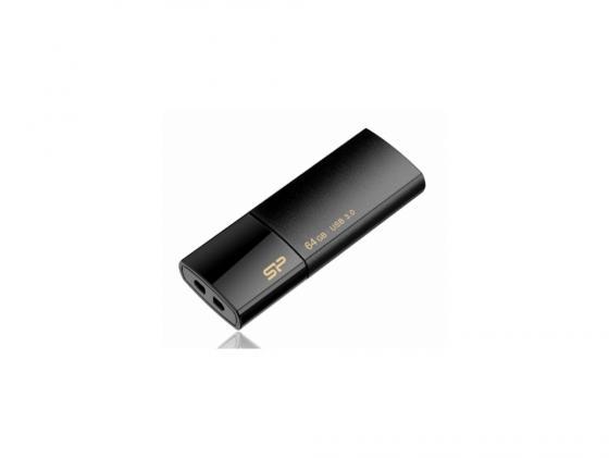Фото - Флешка USB 64GB Silicon Power Blaze B05 SP064GBUF3B05V1K черный флешка usb 64gb silicon power blaze b02 sp064gbuf3b02v1k черный