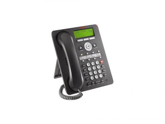 Телефон IP Avaya 1608-I черный телефон