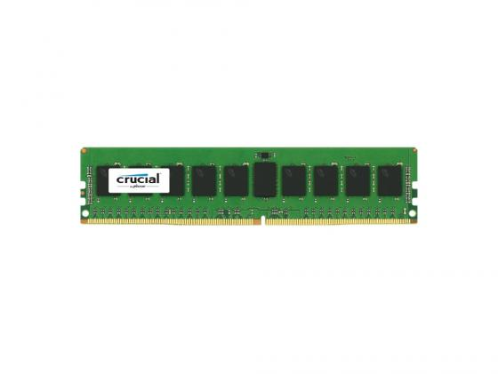 Оперативная память 8Gb PC4-17000 2133MHz DDR4 RDIMM Crucial ECC Reg 1.2V CL15 CT8G4RFS4213 Retail
