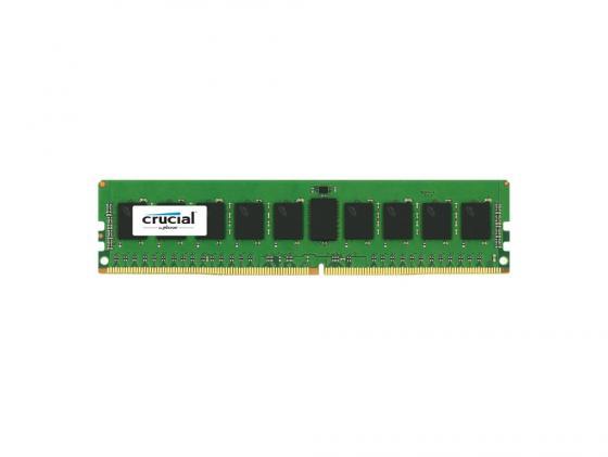 Оперативная память 8Gb PC4-17000 2133MHz DDR4 RDIMM Crucial ECC Reg 1.2V CL15 CT8G4RFS4213 Retail память ddr4 huawei 06200212 8gb rdimm ecc reg