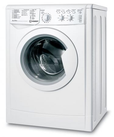 Стиральная машина Indesit IWC 6105 B белый стиральная машина indesit iwse 6105 b cis l