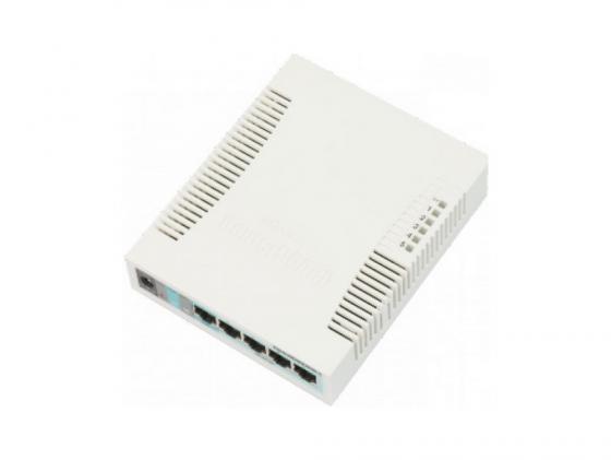 Коммутатор MikroTik RouterBoard 260GS 5 портов 10/100/1000Mbps