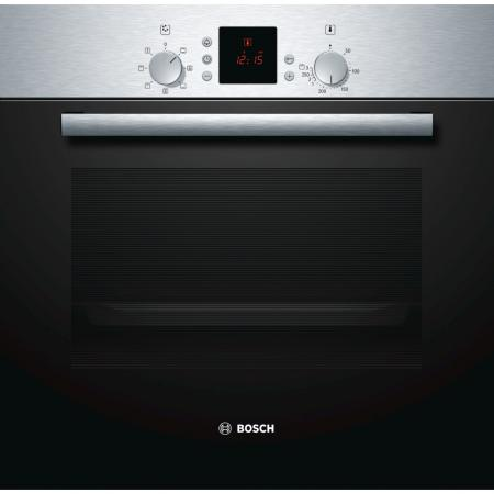 Электрический шкаф Bosch HBN431E3 серебристый