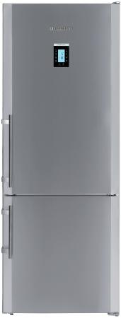 Холодильник Liebherr CBNPes 4656-20 001 серебристый морозильный ларь liebherr gt 4932 20 001