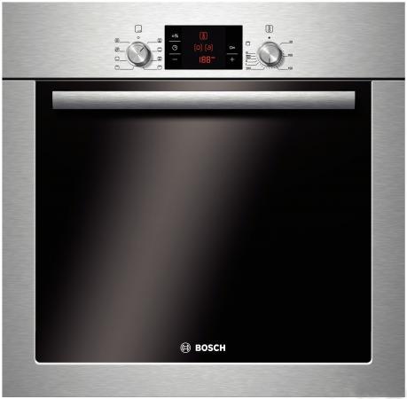 Электрический шкаф Bosch HBA42S350R серебристый