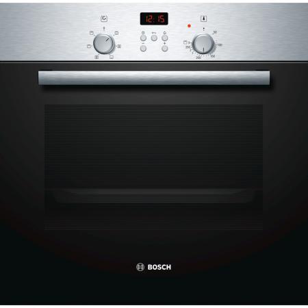 Электрический шкаф Bosch HBN231E4 черно-серебристый