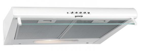 Вытяжка подвесная Gorenje DU6446W белый вытяжка подвесная gorenje du5345w