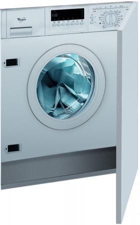 Стиральная машина встраиваемая Whirlpool AWOC 0714 белый стиральная машина стандартная whirlpool fscr 90420