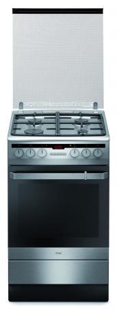 Комбинированная плита Hansa FCMX59220 серебристый цены