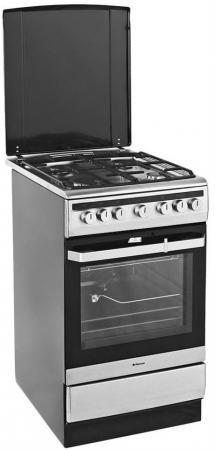 Комбинированная плита Hansa FCMX59120 серебристый цены
