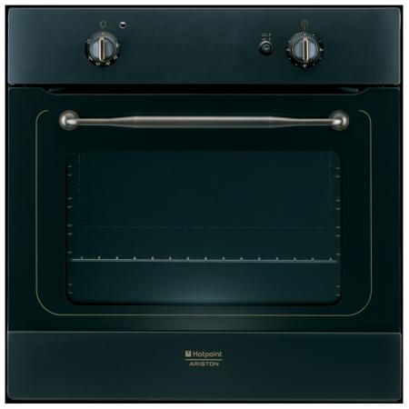 Газовый шкаф Hotpoint-Ariston 7OFHR G (AN)RU/HA черный hotpoint ariston 7oftr 850 an