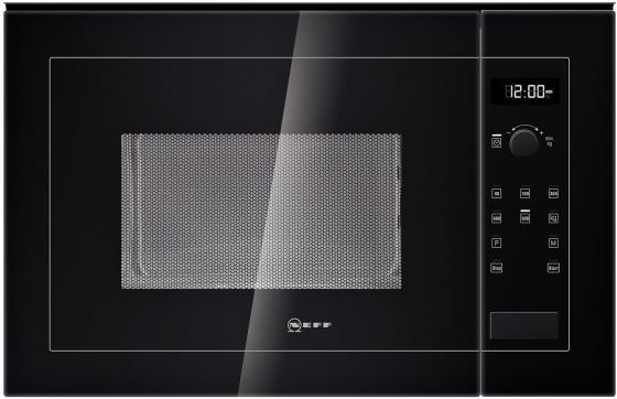 Встраиваемая микроволновая печь NEFF H12WE60S0 900 Вт чёрный H12WE60S0 вытяжка встраиваемая neff d46ed52x0 серебристый