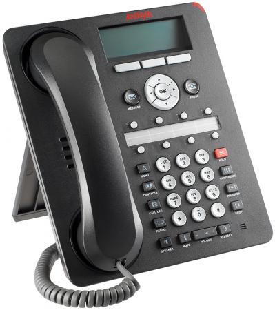 Телефон IP Avaya 1408 черный 700469851 установочный комплект для багажника thule 1408