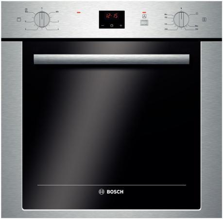 Газовый шкаф Bosch HGN 22H350 серебристый