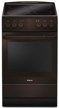 Электрическая плита Hansa FCCB54000 коричневый цена и фото