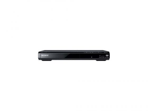 Проигрыватель DVD Sony DVP-SR320 черный dvd плеер sony dvp sr320 black