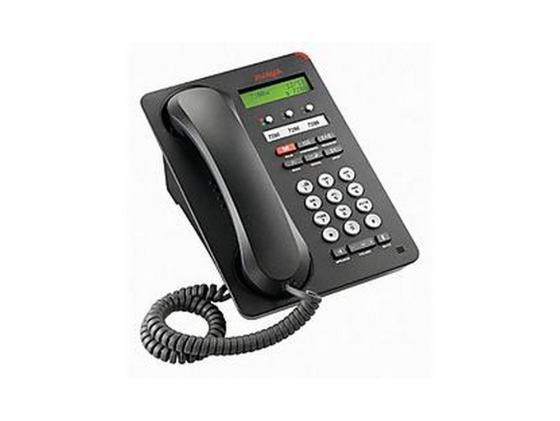 Телефон IP Avaya 1603SWi черный 700458524/700508258 телефон