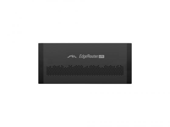 Маршрутизатор Ubiquiti EdgeRouter Lite 3x10/100/1000Mbps ERLite-3(EU) маршрутизатор ubiquiti er 8 eu edgerouter 8