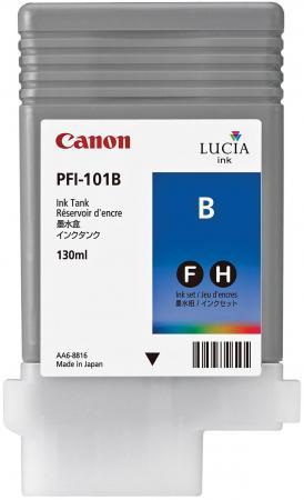 Картридж Canon PFI-101 B для iPF5100 синий canon pt 101