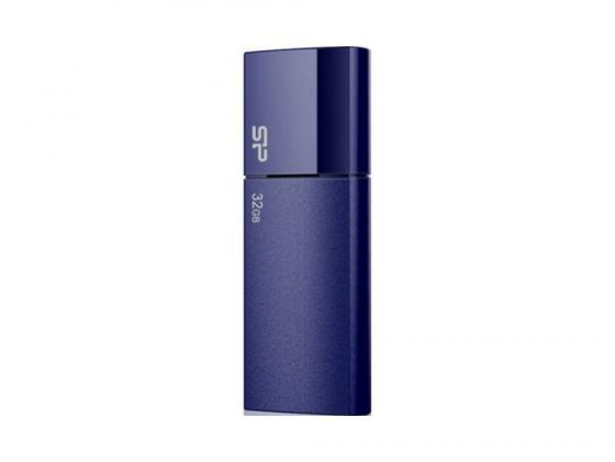 Флешка USB 32Gb Silicon Power Ultima U05 SP032GBUF2U05V1D синий usb flash drive 32gb silicon power ultima u05 usb 2 0 black sp032gbuf2u05v1k