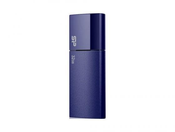 Флешка USB 32Gb Silicon Power Ultima U05 SP032GBUF2U05V1D синий флешка usb 16gb silicon power ultima u05 usb2 0 sp016gbuf2u05v1h персиковый