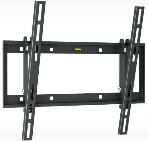 Кронштейн Holder LCD-T4609-B черный для ЖК ТВ 32-65 настенный от стены 60мм наклон -2°/+15° VESA 400x400 до 60 кг