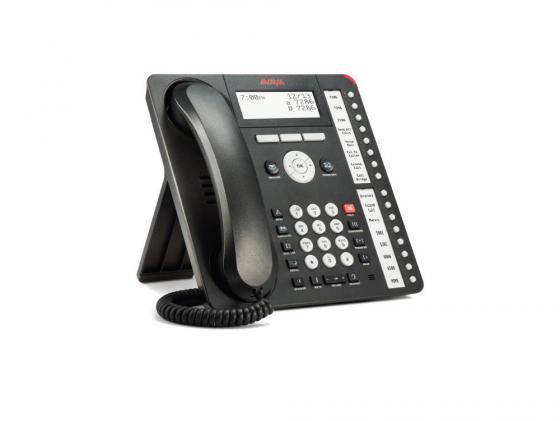 Телефон IP Avaya 1416 черный 700469869 карта sd avaya 700479702