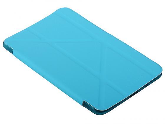 Чехол IT BAGGAGE для планшета Samsung Galaxy tab4 7 Hard case искусственная кожа синий ITSSGT4701-4 чехол it baggage для планшета samsung galaxy tab4 8 hard case искусственная кожа красный itssgt4801 3