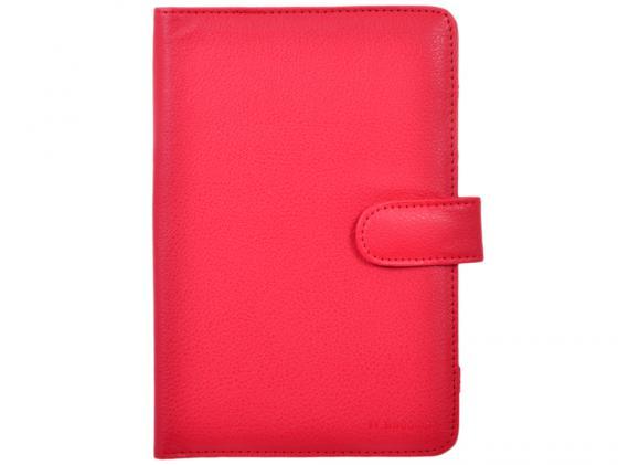 Чехол IT BAGGAGE Универсальный для планшета 7 искусственная кожа красный ITUNI702-3 чехол для планшета it baggage для memo pad 7 me572c ce красный itasme572 3 itasme572 3