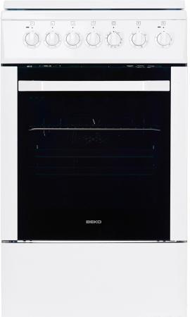 Электрическая плита Beko CSE 56100 GW белый