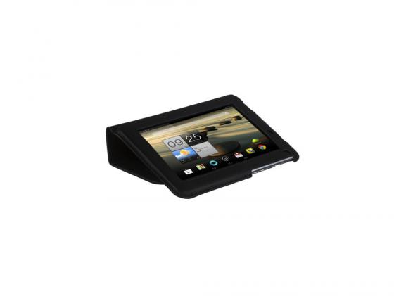 Чехол IT BAGGAGE для планшета ACER Iconia Tab B1-710/711 искусcтвенная кожа черный ITACB102-1 new 10 1 inch case for acer iconia tab 10 a3 a20 a20 lcd display with touch screen panel digitizer sensor assembly free shipping