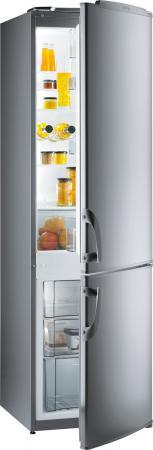 Холодильник Gorenje RKV42200E серебристый