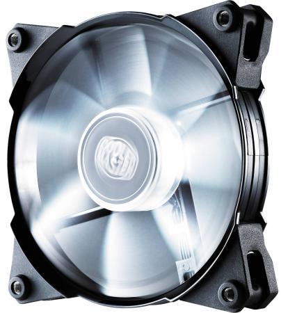 Вентилятор Cooler Master Jetflo 120 White R4-JFDP-20PW-R1 120mm 800-2000rpm цена и фото