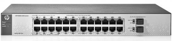 Коммутатор HP PS1810 управляемый 24 порта 10/100/1000BASE-T J9834A коммутатор hpe ps1810 24g j9834a