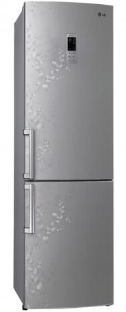Холодильник LG GA-B489ZVSP серебристый холодильник lg ga b499yaqz серебристый