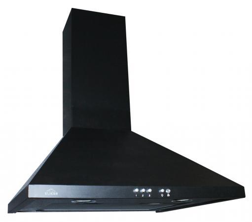 Вытяжка каминная Elikor Elikor Вента 50П-430-К3Г черный elikor вента 50п 430 к3г бел гал