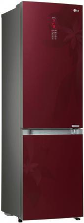Холодильник LG GA-B489TGRF красный led панели lg 32se3b b
